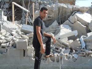 Home Demolition ~ Haris Village ~ West BankPhoto Credit: Dawn