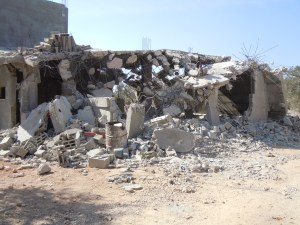 Home DemolitionHaris VillagePhoto Credit: Dawn